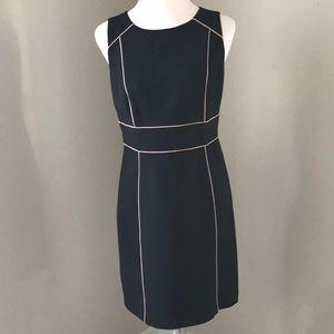 Loft Black Sheath Dress Sz 4